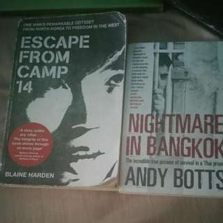 Escape From Camp 14 And Nightmare In Bangkok