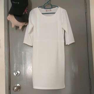 BN White Dress