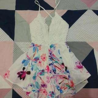 Floral Playsuit 🌸