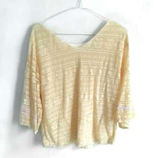 [ Used 1x ] No Brand blouse
