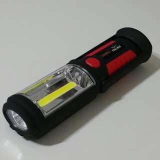 Rechargable Working LED Light Magnet Hook (New)