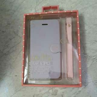 Uniq Lolita Ip 5/5s Pastel Purple Pink Flip Case