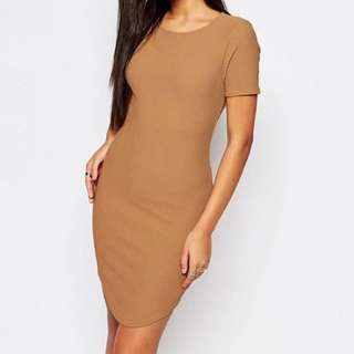 Misguided Texture Bodycon Dress