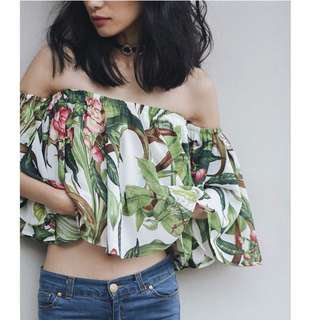 Tropicana top by BREN & CEL