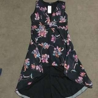 Boohoo Floral Print Dress