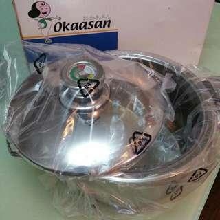 OKAASAN日本不銹鋼煲