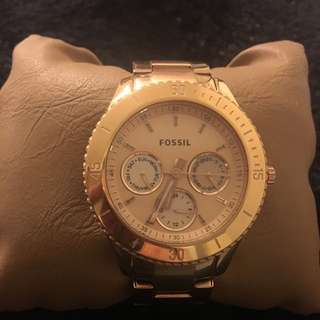 Fossil Watch- Rose Gold
