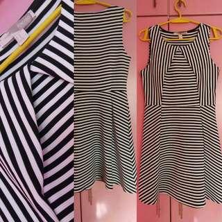 Forever21 Sleeveless Striped Dress