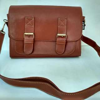 Chocolate Sling Bag
