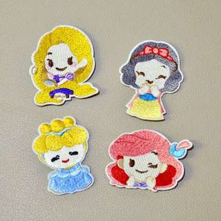 PRINCESS CINDERELLA IRON ON PATCH