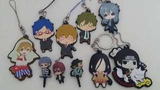 Anime phone charms