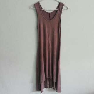 Dress Kaos Choco (No Brand)