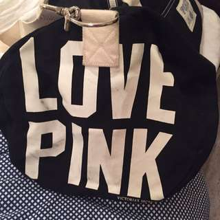 Victoria's Secret, Love Pink Duffle Bag