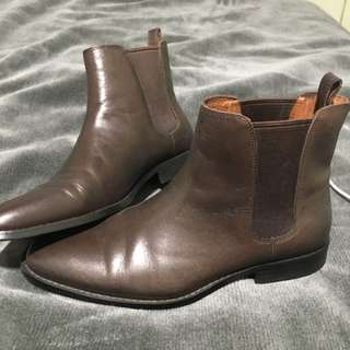 Country Road Leather Boots Sz 40