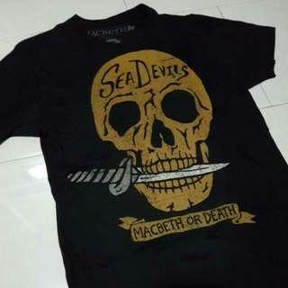 Black MACBETH Sea Devils Shirt