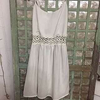 Forever 21 Off-White Dress