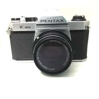 Pentax K1000 With 50mm F2 Lens
