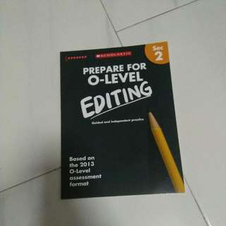 Editing Book Sec 2 . Condition 10/10