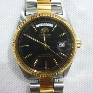 Orient Automatic Day Date Watch