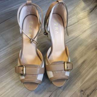 Ezra By ZALORA Buckle Heels