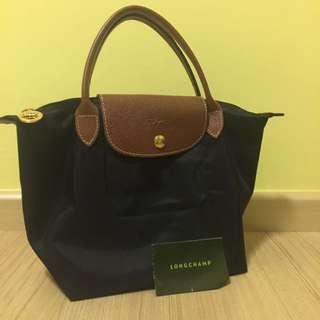 Longchamp Bag (Small) (Black)