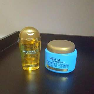 OGX Argan Oil of Morocco Products