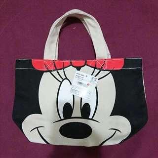 迪士尼 米妮手提袋