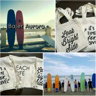 2D/1N BALER ESCAPADE PACKAGE TOUR with free Tote or Drawstrings bag!