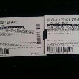 Universal Studio Singapore Tickets