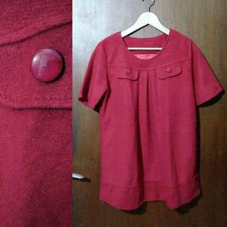 Wool Red Top