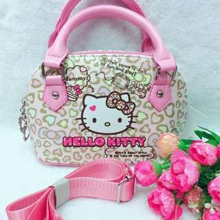 Hello Kitty Leather Sling/Hand Bag