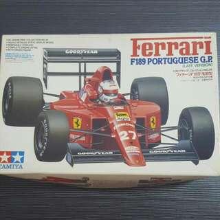 DIY Ferrari F189 Portuguese G.P