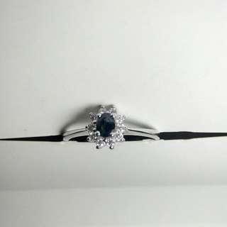 Blue Sapphire Thailand Ring