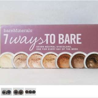 Bare Minerals 7 Ways to bare Eyeshadow