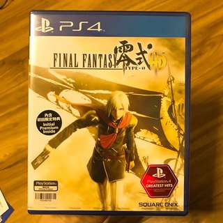 Brand New FINAL FANTASY TYPE-0 Playstation 4