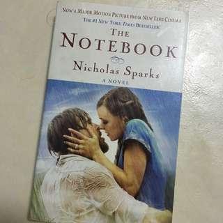 Notebook by Nicholas Sparks