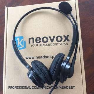 Call Center Usb Headset Neovox NX377