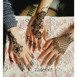 Henna Booking For 2017
