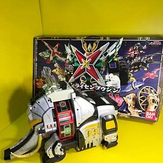 RARE SUPER SENTAI 2002 NINPU SENTAI COMPLETED SET WITH ELEPHANT BASE KAMEN RYDER MASKED RYDER GUNDAM BANDAI JAPAN LIMITED COLLECTOR EDITION POPY