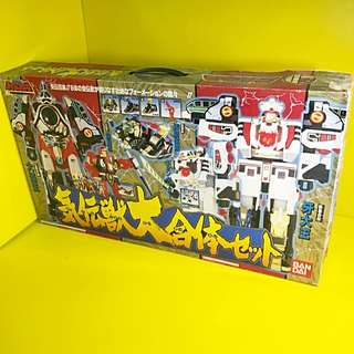 EXTREMELY RARE 1993 SUPER SENTAI DAIRANGER GIFT LIMITED EDITION SET KAMEN RYDER MASKED RYDER GUNDAM BANDAI MIDE IN JAPAN LIMITED COLLECTOR EDITION POPY
