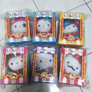 McDonalds Hello Kitty Circus Edition