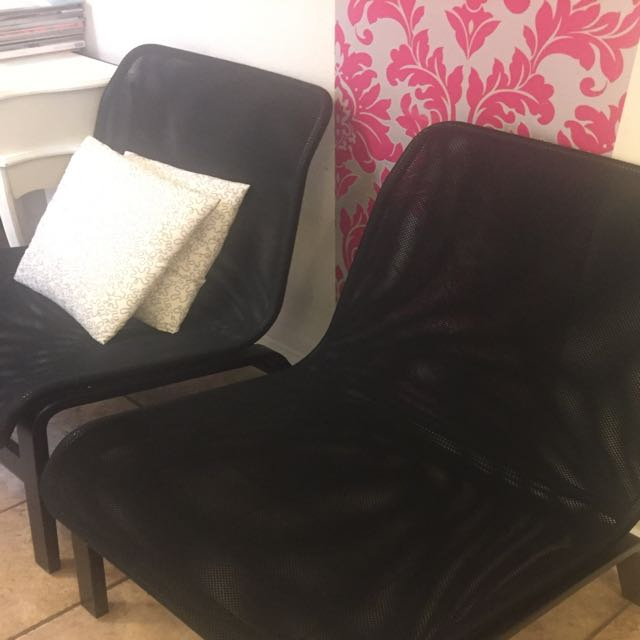 4 Very Comfortable Black Chair $100
