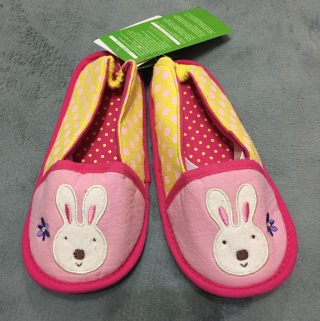 韓-兔兔室內拖/學步鞋