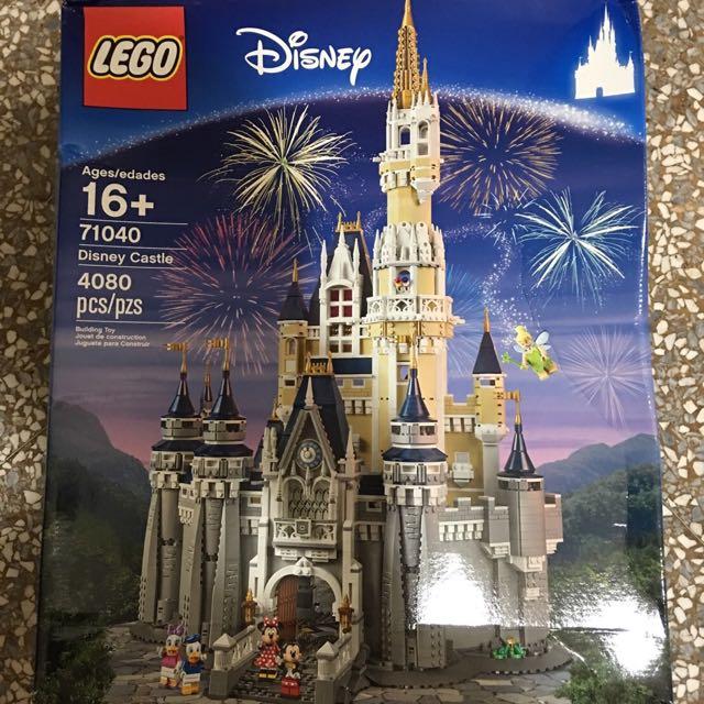 🏰全新未拆71040迪士尼城堡,僅一組🏰