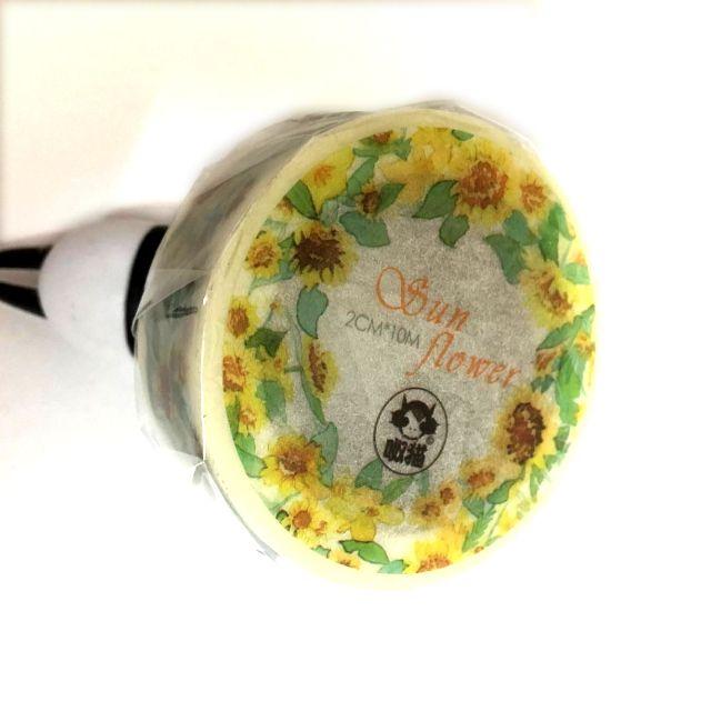 紙膠帶-向日葵