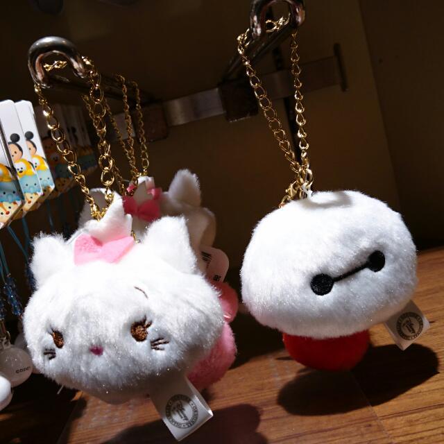 夏趴。💓 2017 日本東京迪士尼  超可愛😉 瑪莉貓/杯麵 吊飾
