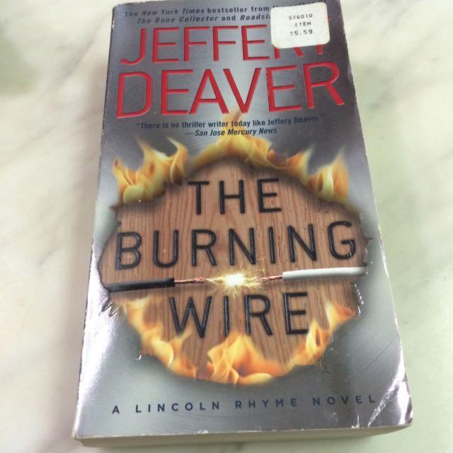 英文小說 馭電人 The Burning wire by Jeffery Deaver