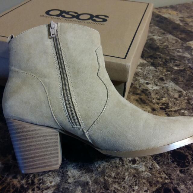 [BRAND NEW] ASOS RAE Western Ankle Boots