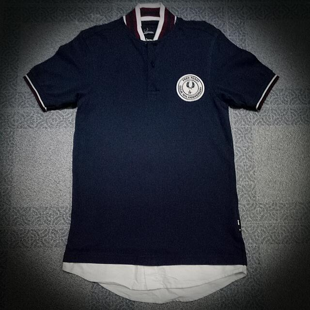 Authentic Fred perry X Izzue Unisex Shirt XS