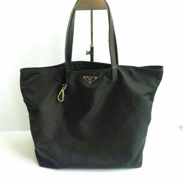 4e47d77bfc69 Authentic Prada nylon Shopping Bag, Luxury, Bags & Wallets on Carousell